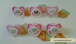 Ulubulu Expression Pacifier 0-6M for Baby Girls
