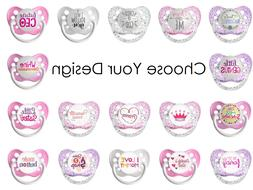 Ulubulu Expression Pacifiers for Girl - Choose Your Design -