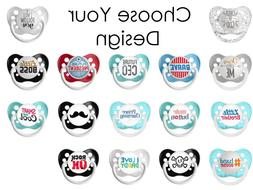 Ulubulu Expressions Pacifier for Baby Boy - Choose Your Desi
