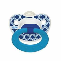 NUK Fashion Orthodontic Pacifier, Marrakesh & Whales, 18-36