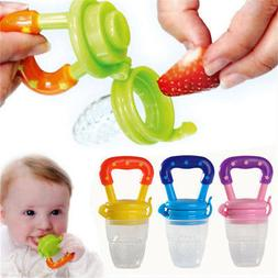 Feeding Pacifier Fresh Food Fruits Soup Dummy Soother Weanin