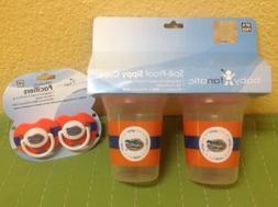Florida Gators Baby Fanatic Sippy Cups 2-Pack & Orthodontic