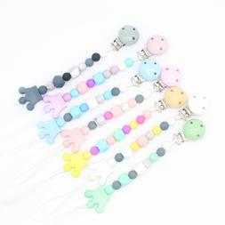 <font><b>Pacifier</b></font> Clip Holder Soothie Teething Du