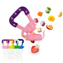 food grade silicone baby pacifier fresh fruit