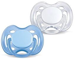 Philips Avent Freeflow Pacifiers, 0-6 Months, Boy Colors