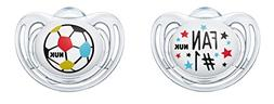 NUK Freestyle Silicone Dummy Football Edition Fan Ball 2-Pac