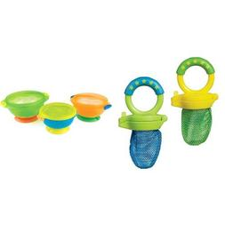 Munchkin Fresh Food Feeder, Colors May Vary, 2 Count and Sta