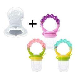 Fresh Food Nibbler Baby Pacifiers Feeder Kids Fruit Feeder N