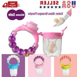 fresh food nibbler pacifier feeder kid fruit