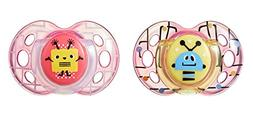 Tommee Tippee Fun Style Baby Pacifier, BPA-Free 6-18 Months,