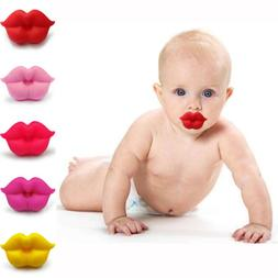 Funny Pacifier Teether Orthodontic Safe Soother Dummy Lip Ba