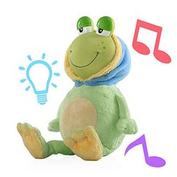 Nuby Glo-Pals with Soothing Music and Soft Light, Frog