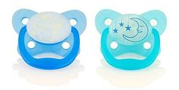 Dr. Brown's Glow in the Dark Pacifier, Stage 2/Blue by Dr. B