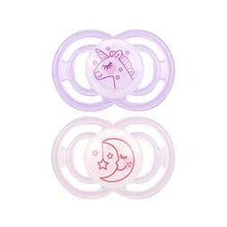 MAM Glow In The Dark Pacifiers, Baby Pacifier 6+ Months, Bes