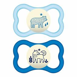 glow in the dark sensitive skin pacifiers