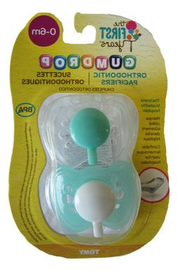 The First Years GumDrop Orthodontic Pacifier - 0-6 months Y6