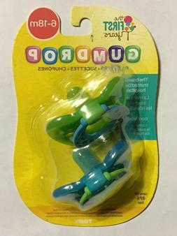 The First Years GumDrop 6-18 Months 2 Pack Pacifier - Girl