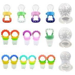 Infant Baby Feeding Pacifier Fruits Soup Feeder Dummy Nibble