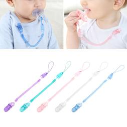 Infant Baby Toddler Dummy Pacifier Soother Spring Nipple Cli