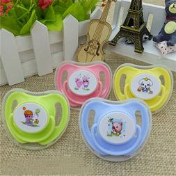 Infant Pacifier Butterfly Round Pacifiers Newborn Child Soot