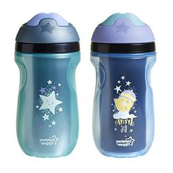 Tommee Tippee Insulated 2 Piece Sipper Tumbler, Blue and Gre