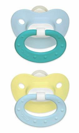 Nuk Juicy Silicone Orthodontic Pacifiers 2 pieces in Pack Si