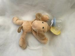 Kids dog toy with pacifiers