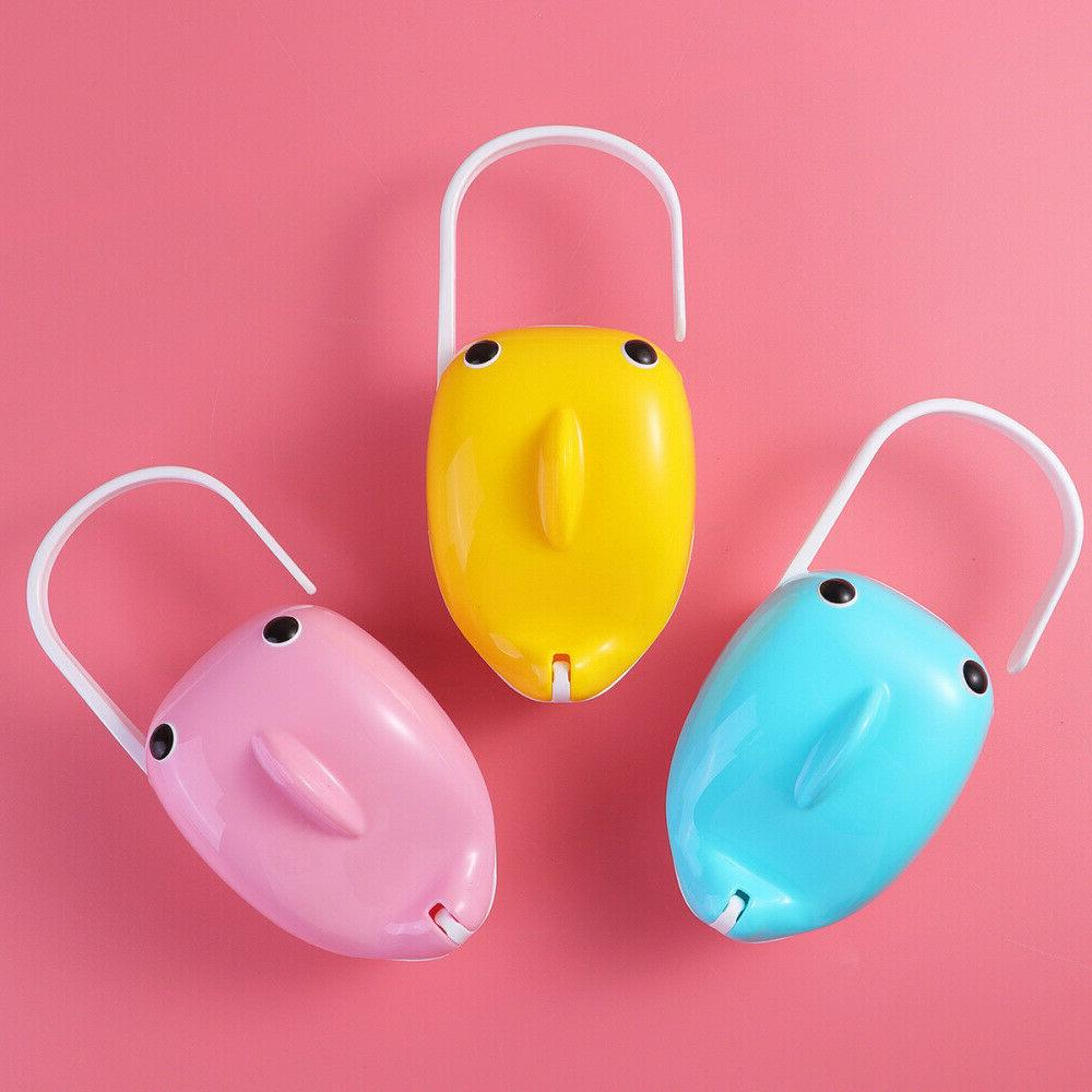 1pc Whale Dust Proof Safe Pacifier Holder for Travel