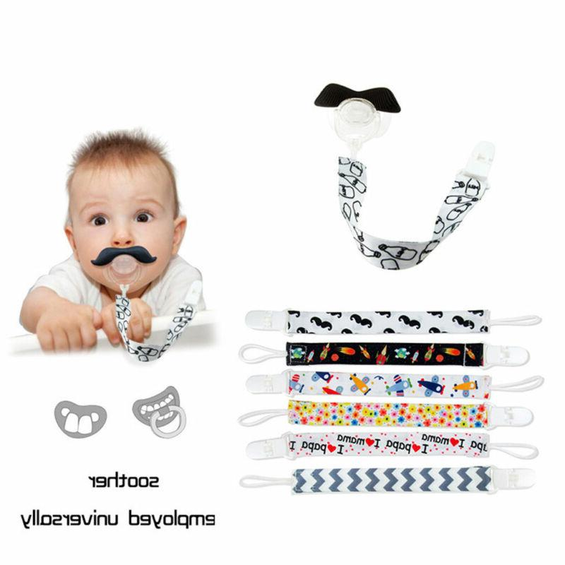 1X Baby Clip Boy Dummy Soother