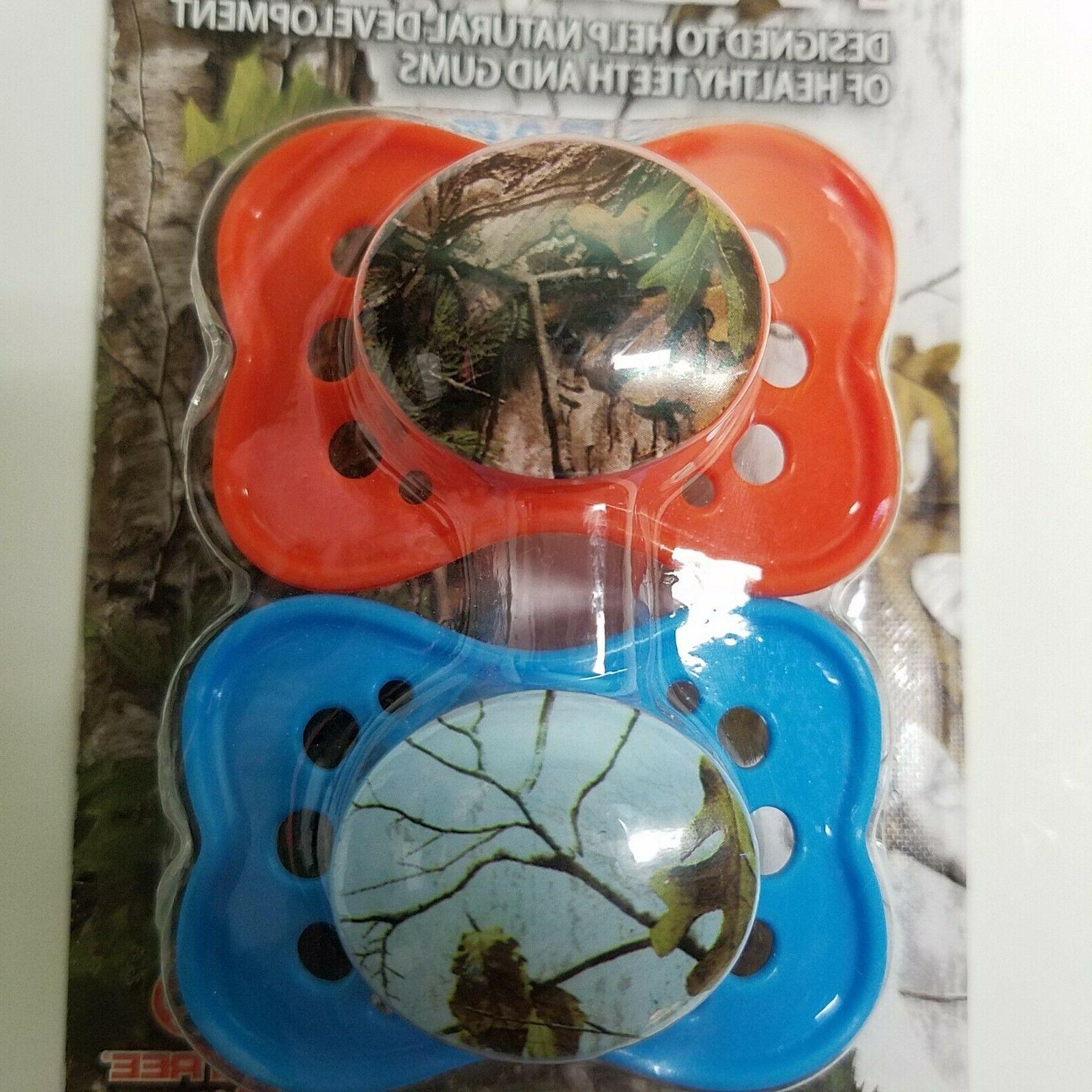 2 Outdoor Theme REALTREE Pacifiers   BPA