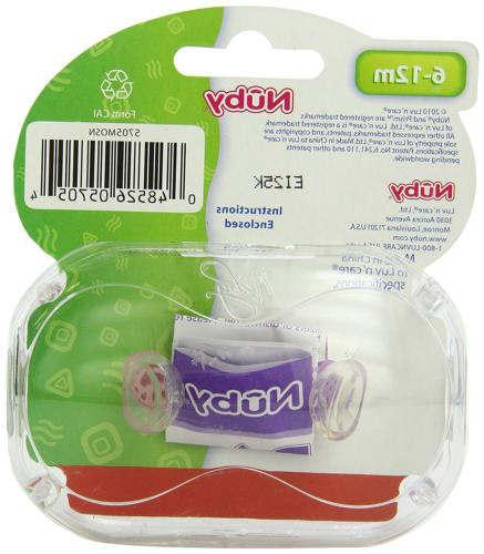 Nuby Pacifiers, Colors Vary