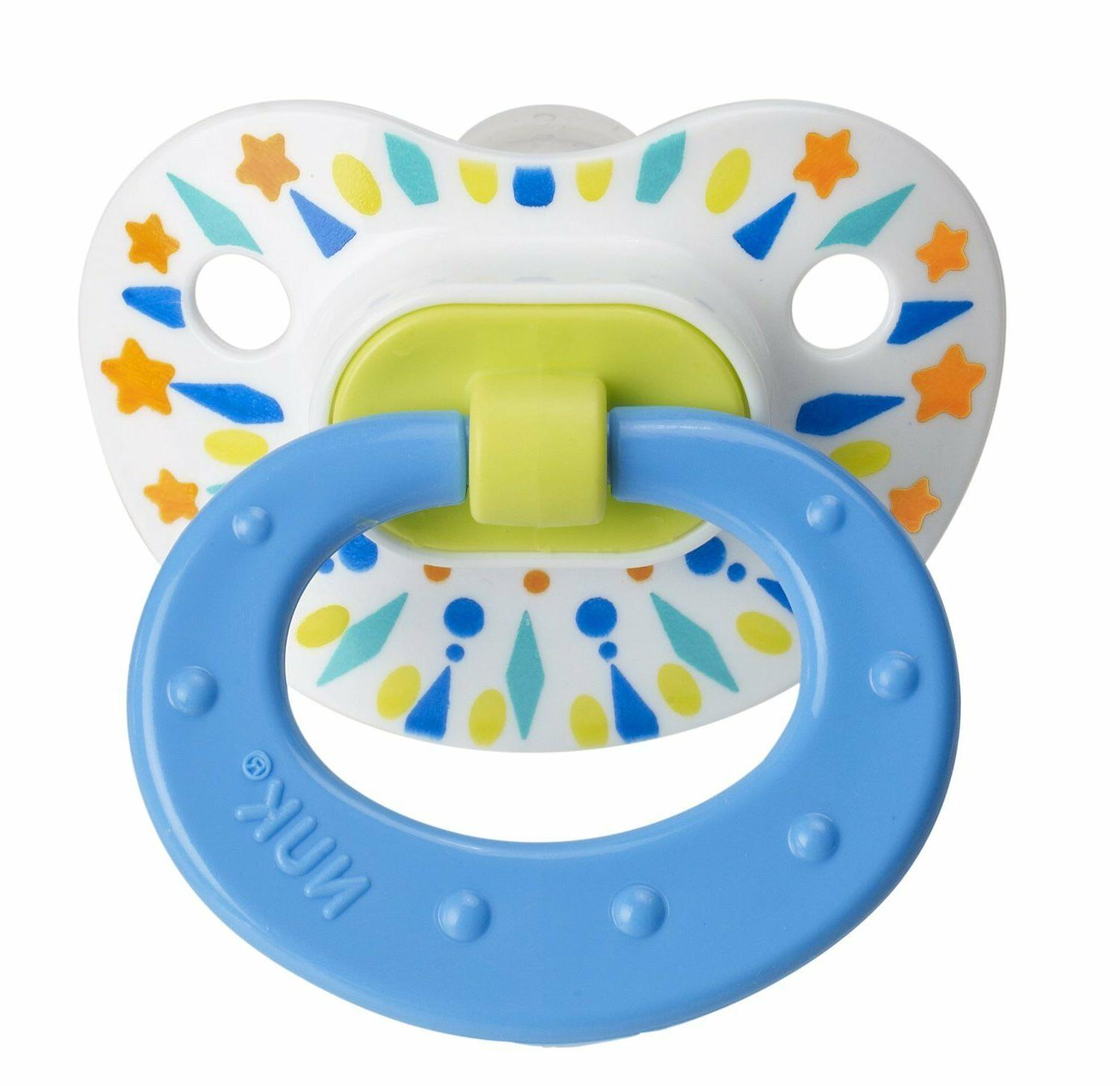 Nuk Tye Dye Pacifier Colors