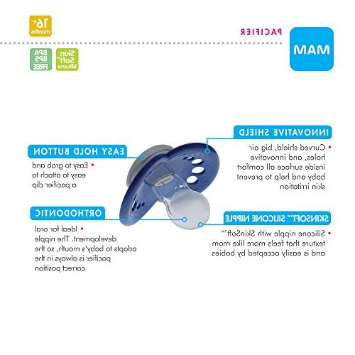 MAM 16+ Months, Best Pacifier for Babies, Design Collection,