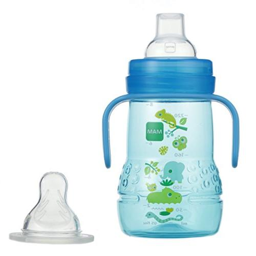 MAM Trainer Cup, Cups Handles, Boy, Ounces, 1-Count