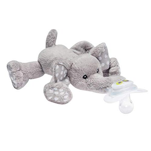Nookums Paci-Plushies Elephant - Pacifier Holder