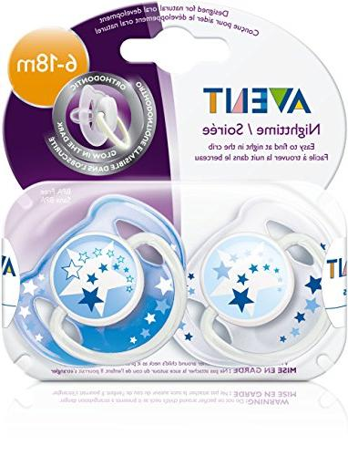 Philips AVENT BPA Free Night 6-18 Months,