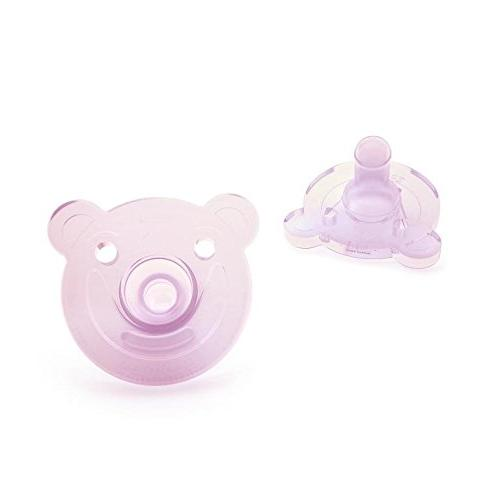 Philips Avent Soothie Shape, 0-3 months, pink/purple, 2 pack,