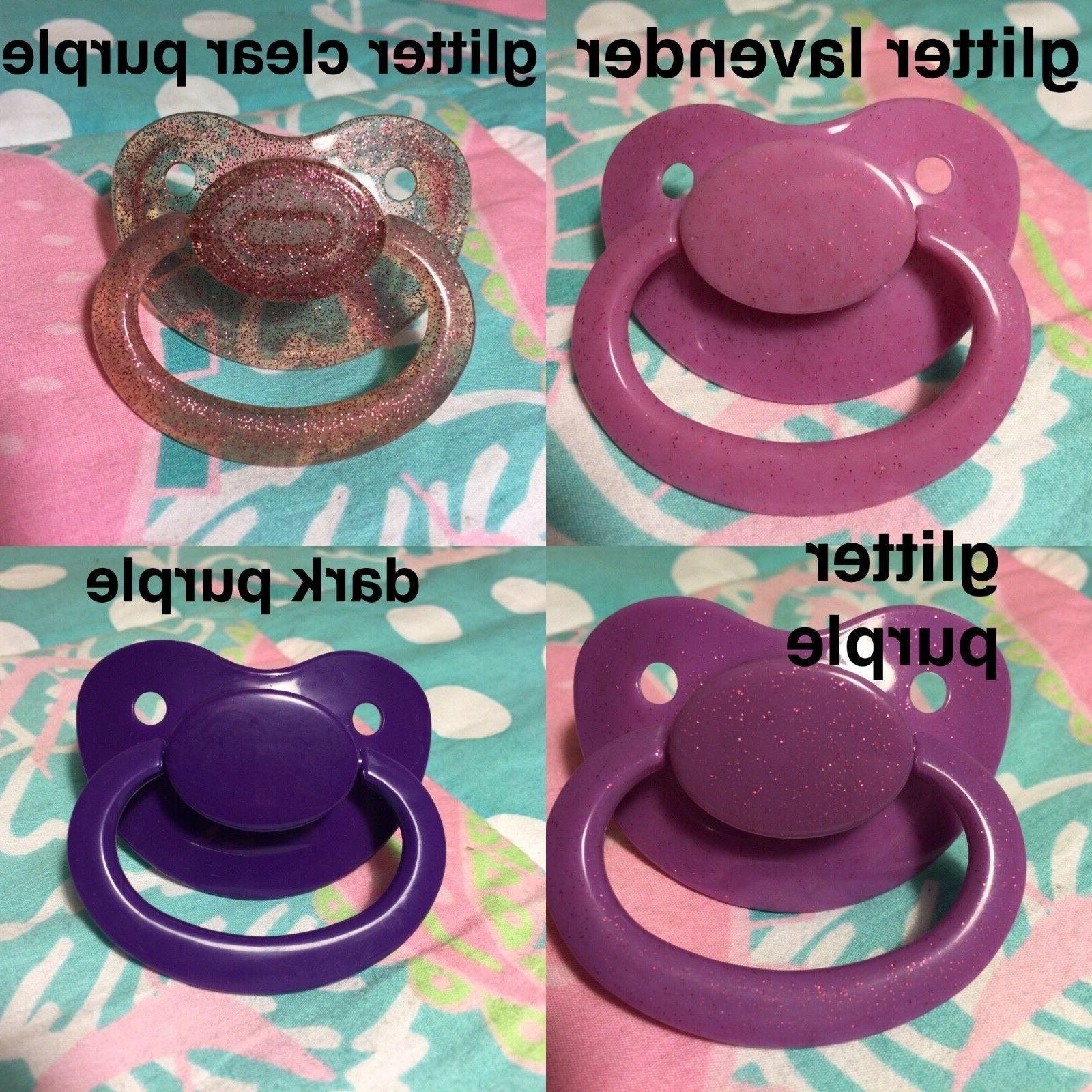 Adult Silicone Pacifier / in