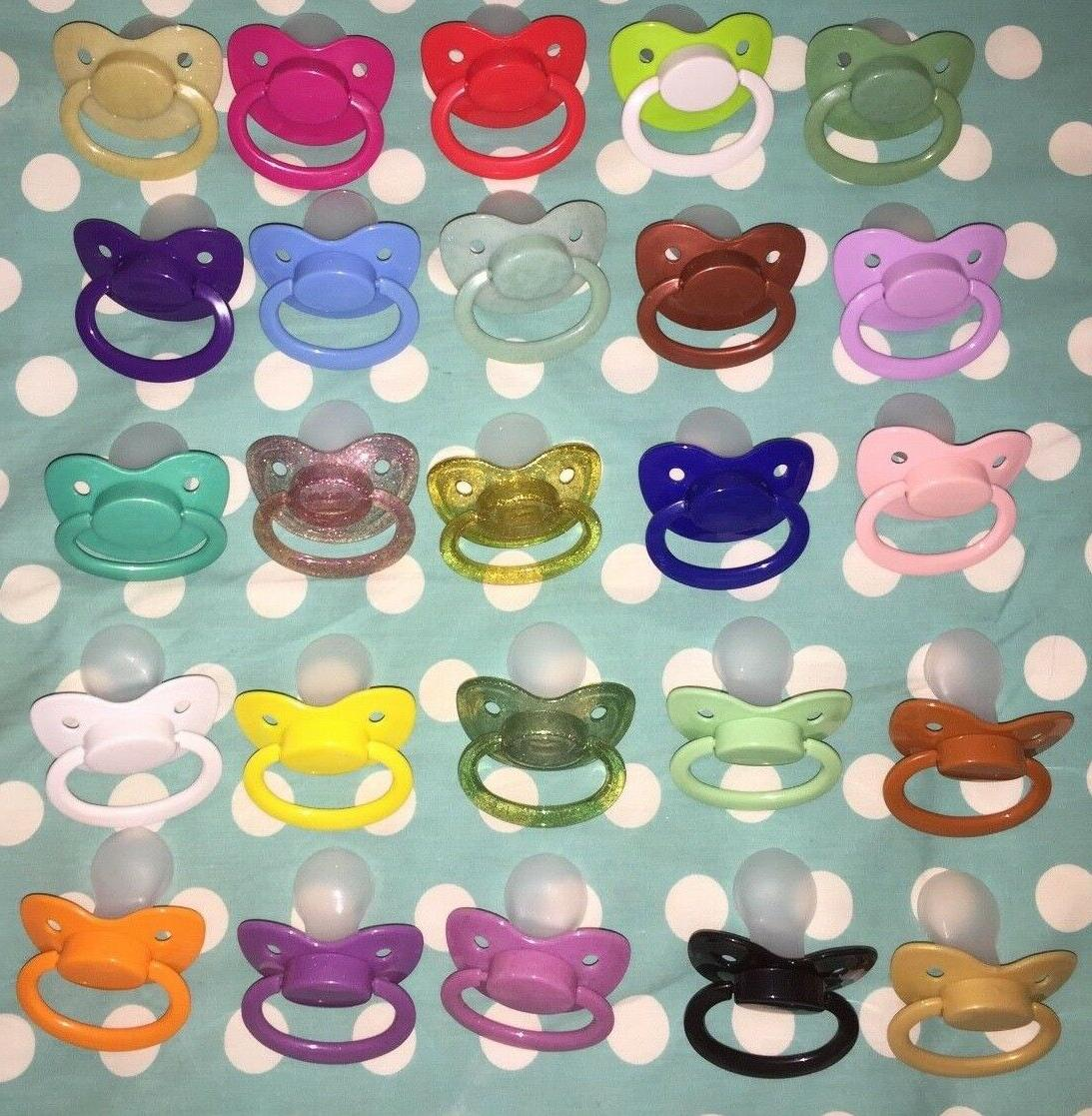 adult nuke size 6 silicone pacifier dummy
