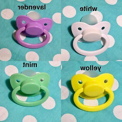 Adult Pacifier Available In Color Options