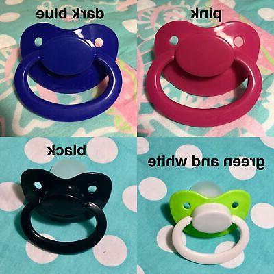 Adult Size Pacifier In