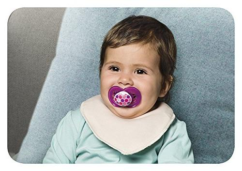 MAM Baby Pacifier 16+ Months, Best Pacifier for Breastfed Babies, Design Collection, Girl,