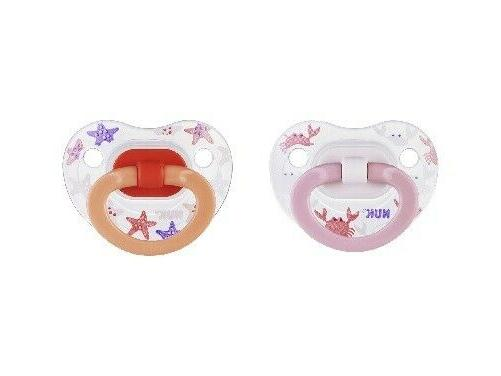 baby boy 2 pack latex orthodontic pacifiers