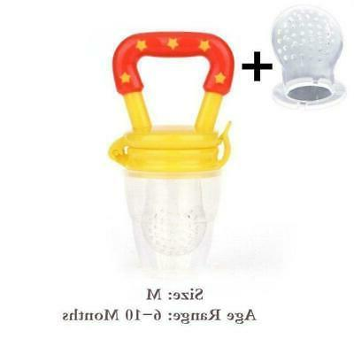 Baby Food Pacifier Toy