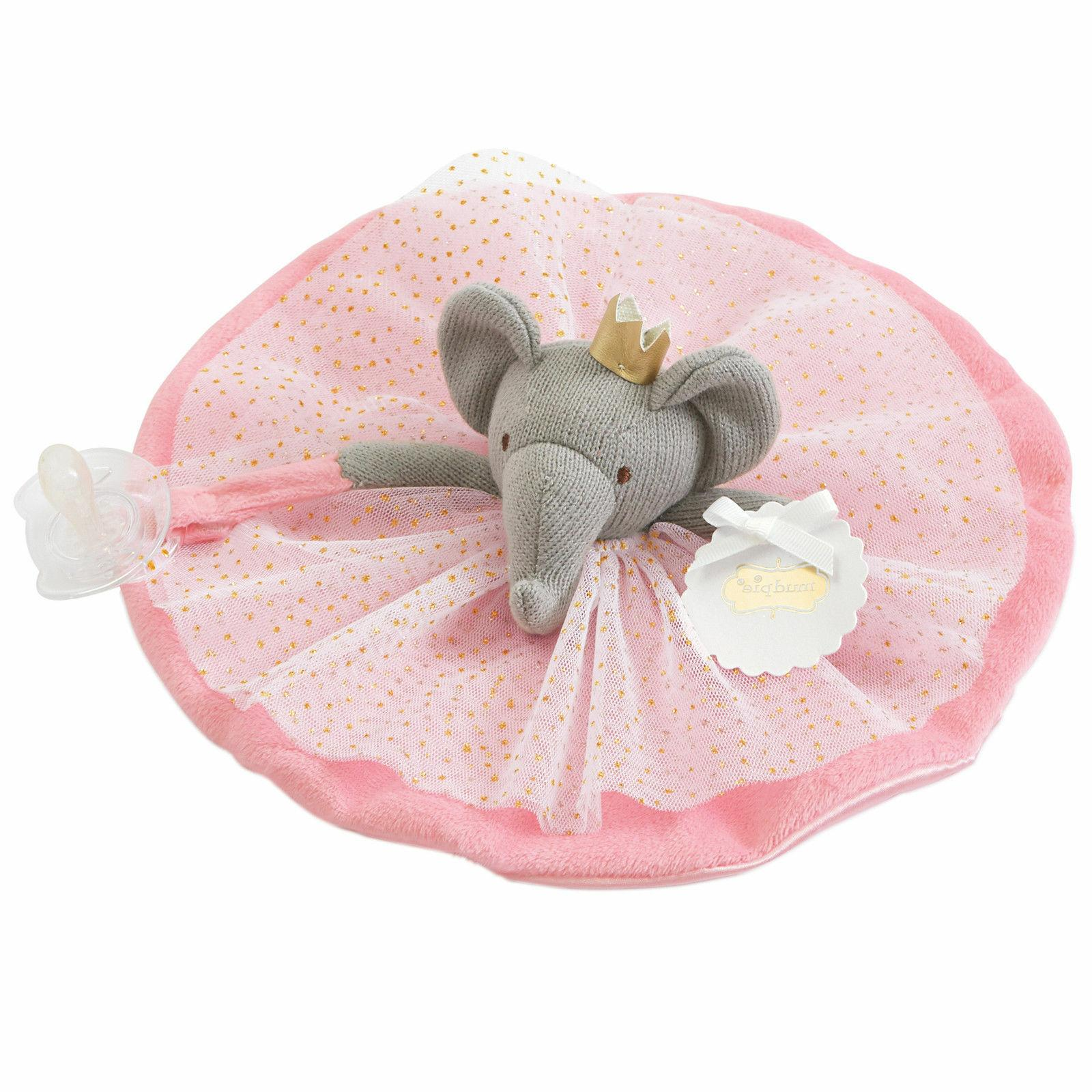 baby girl princess skirted pacy cuddler pacifier