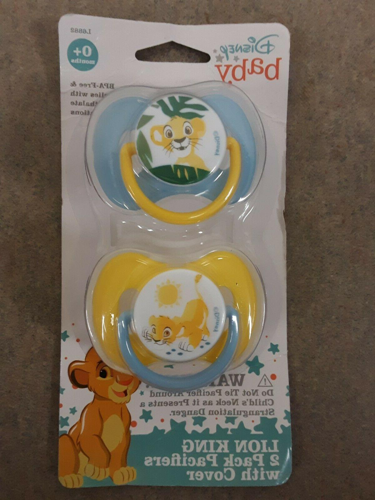 baby lion king 2 pack pacifiers