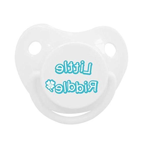 Binky Frenz Hippo Stuffed with 0-6 - Fits All Ring Pacifiers Infant Lightweight Paci and Plushies