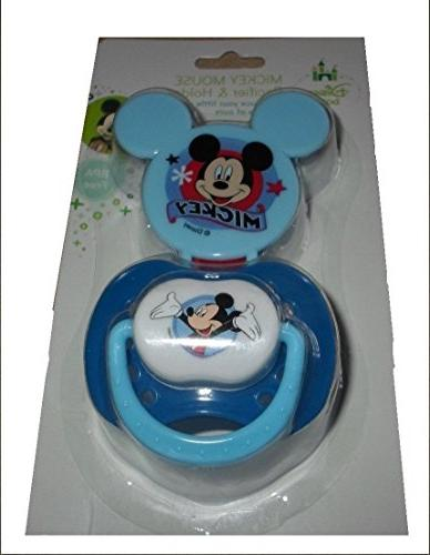 blue mickey mouse clubhouse pacifier