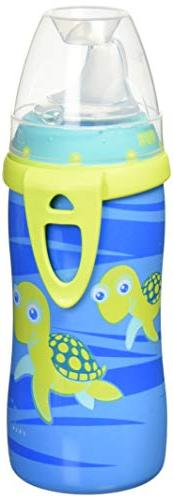 NUK BPA Free Active Cup With Clip, Single Pack, 10 Ounce, Co