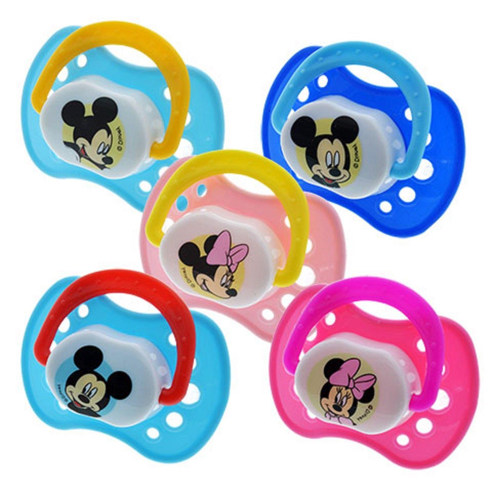 Disney BPA Free Pacifiers Minnie Mouse OR Mickey Mouse Package